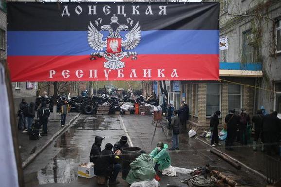 U Donjecku je proglašena Narodna republika koja ne prihvata vlast Kijeva