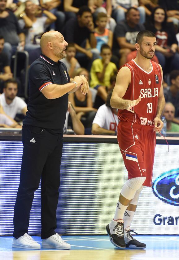 Aleksandar Đorđević i debitant Branko Lazić