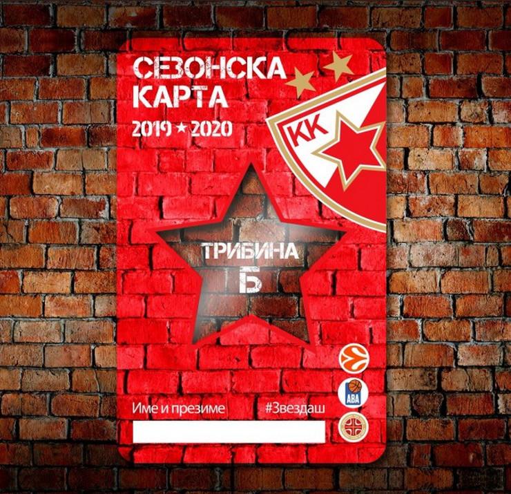 Zvezda karta FOTO KK Crvena zvezda