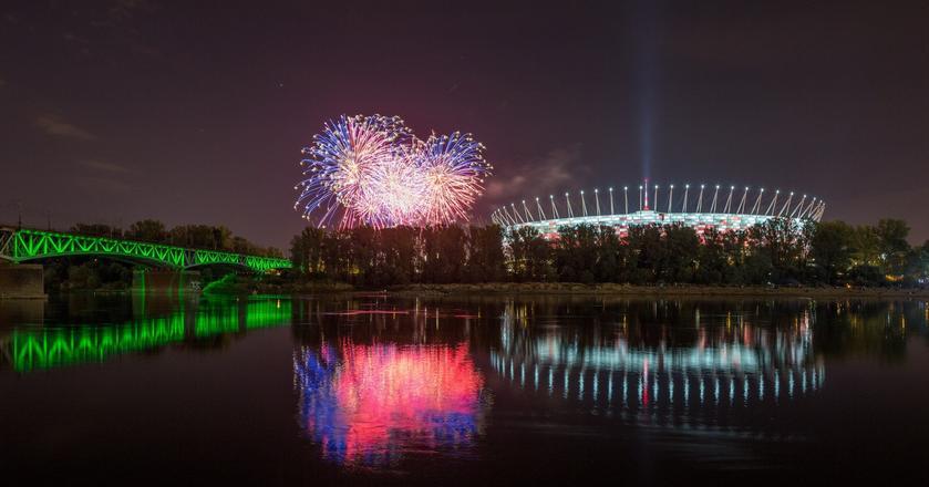 Stadion Narodowy w Warszawie wybudowano w niecce byłego Stadionu Dziesięciolecia