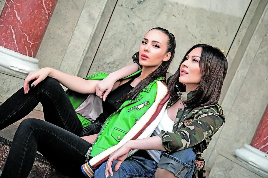 Anastasija i Svetlana Ceca Ražnatović