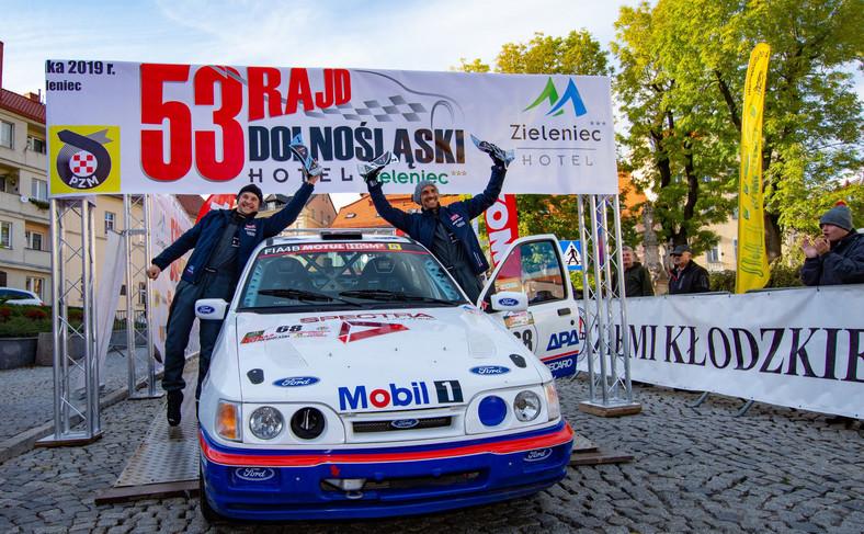 Załoga Ford Rally Team Poland wygrała tegoroczny Rajd Dolnośląski w cyklu Motul HRSMP