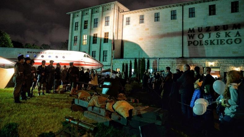 Noc Muzeów cieszy się dużą popularnością (tu Muzeum Wojska Polskiego z 2016 roku)