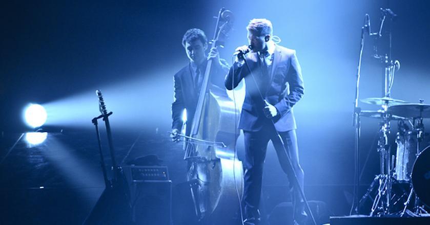 Michael Buble zagrał koncert w ramach Deutsche Bank Invites