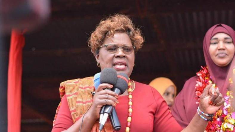 President Uhuru Kenyatta has defected to NASA but he is all alone – Kandara MP Alice Wahome
