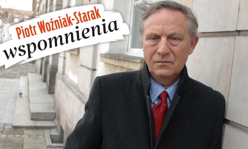 Piesiewicz o Staraku: Ojciec był z niego dumny