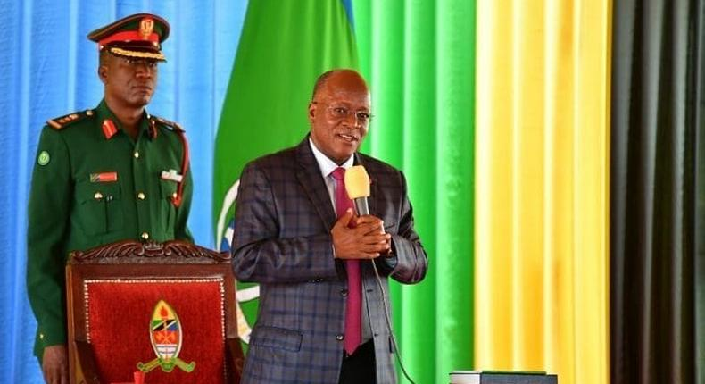 Vinafanana na titi mbaya - President Magufuli thanks Tanzanians for not wearing masks