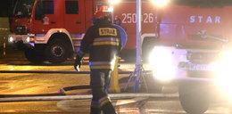 Pożar na Nowomiejskiej. Kobieta wyniosła dzieci z płomieni