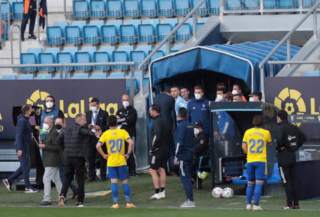 Detalj sa meča Kadiz - FK Valensija