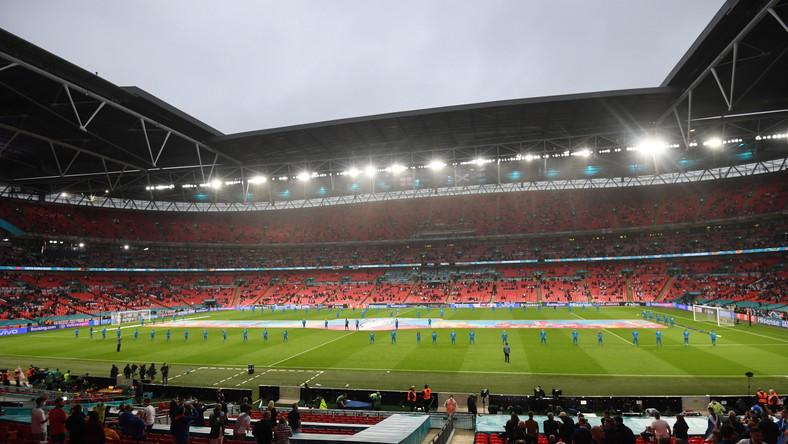 Stadion Wembley w Londynie podczas meczu Anglii ze Szkocją