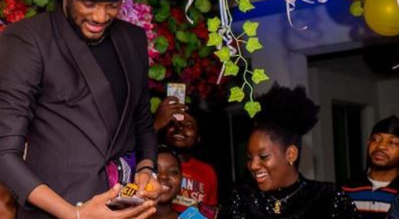 See photos from 2Baba Idibia's surprise birthday party