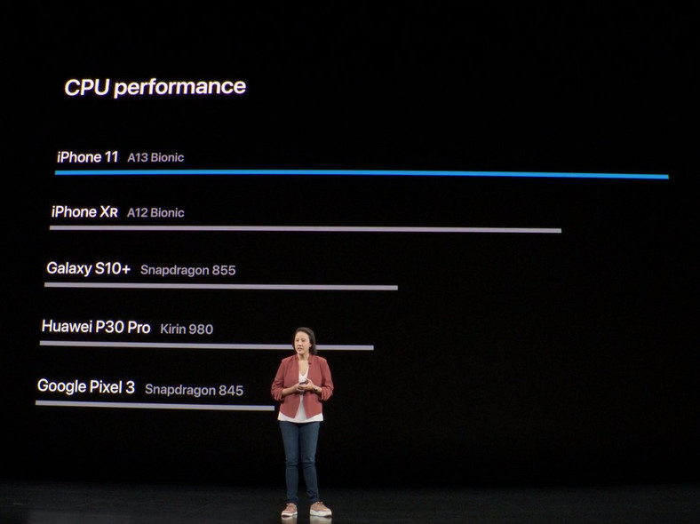 iPhone event 2019 a13 chip