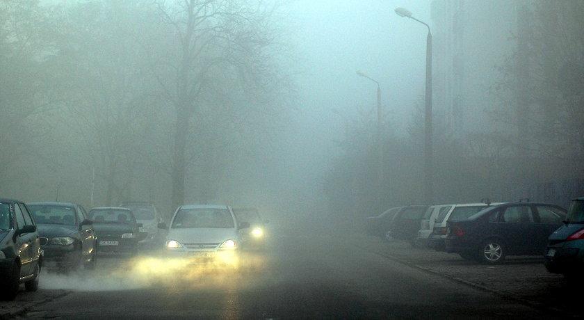 Jak jeździć we mgle