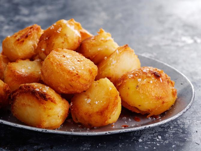 Pečeni krompir uz palentu postaje daleko hrskaviji