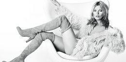Kate Moss nago, ale w butach