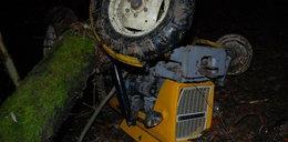 Tragiczny wypadek w lesie. Traktorzysta nie miał szans
