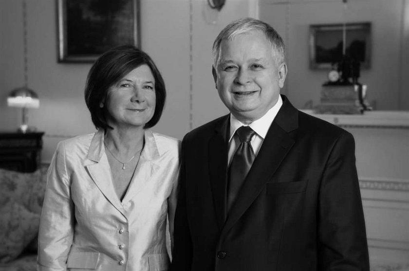 Marta i Jarosław Kaczyńscy. Nie pogodzili się przy grobie. Marta Kaczyńska nie pogodziła się z Jarosławem Kaczyńskim