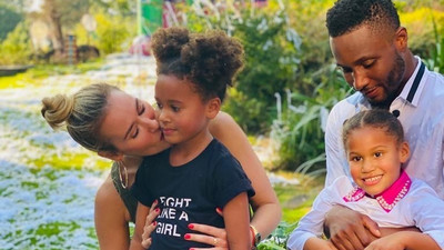 Mikel Obi holds a party for his twin daughters' 5th birthday
