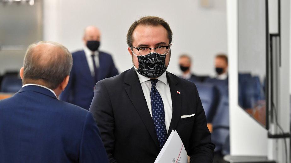 Wiceszef Ministerstwa Spraw Zagranicznych Paweł Jabłoński