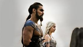 """""""Gra o tron"""": Emilia Clarke i Jason Momoa spotkali się w Paryżu"""