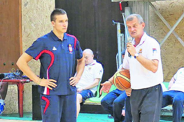 Bogdan Bogdanović i Zoran Sretenović