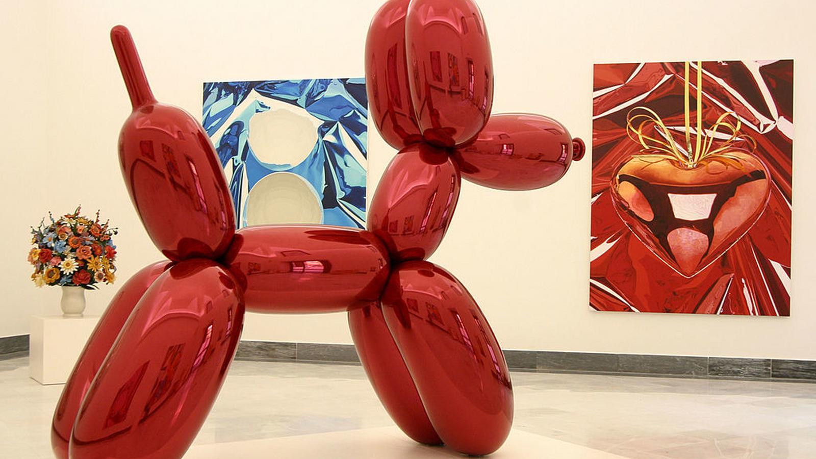 Napompowana sztuka Jeffa Koonsa