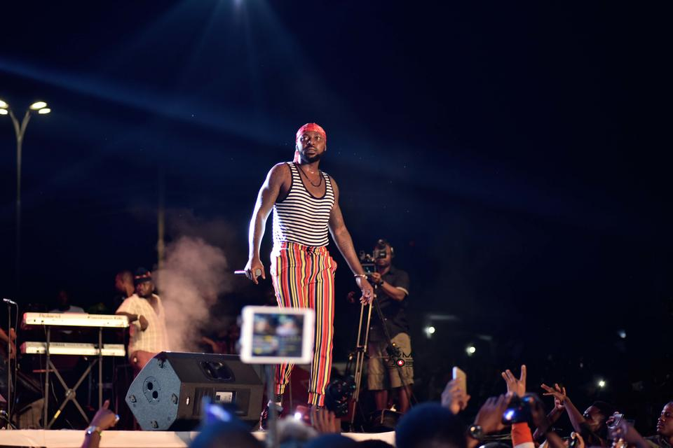 Massive crowd turn up for VGMA nominees jam in Kumasi