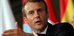 Macron ostro o przemocy wobec kobiet