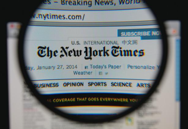 """Redakcje """"New York Times"""" i """"Washington Post"""" zostały wspólnie nagrodzone za informowanie o rosyjskiej ingerencji w wybory prezydenckie w Stanach Zjednoczonych."""