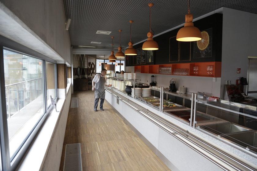 Bistro w Afrykarium we Wrocławiu