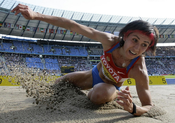 Tatjana Lebedeva, ruska takmičarka u troskoku