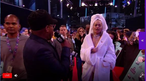Rita Ora na dodeli MTV nagrada