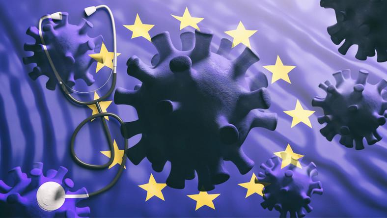 Koronawirus. UE. Pandemia. Unia Europejska. Europa