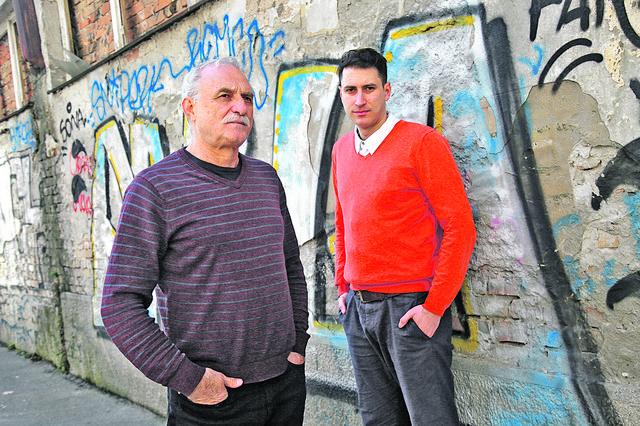 Lazar Ristovski i Petar Ristovski