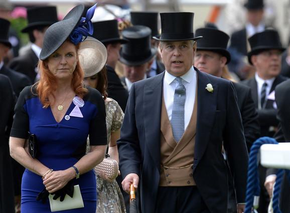 Princ Endru i njegova bivša supruga Sara Ferguson