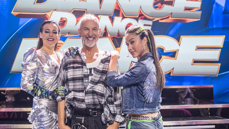 """Jury programu """"Dance, Dance, Dance"""" / Fot. Waldemar Kompała / TVP"""
