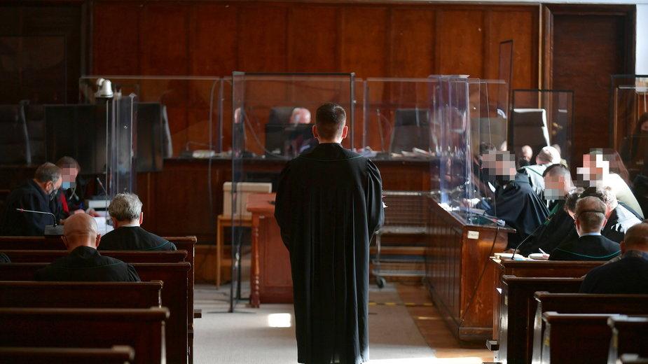 Rozprawa w Sądzie Okręgowym w Warszawie w kwietniu 2021 r. (zdjęcie ilustracyjne)