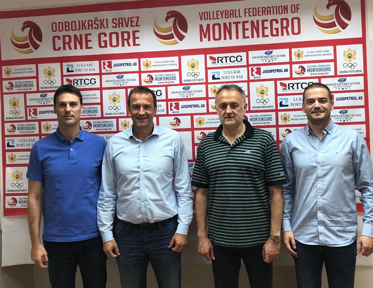 Ivan Knežević, Cvetko Pajković, Zoran Gajić i  Ivan Bošković
