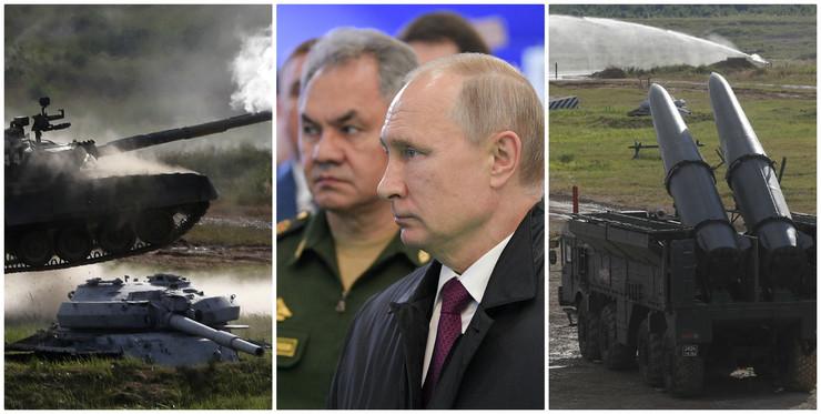Rusija vojska kolaž