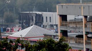 Mały samolot uderzył w budynek w Mediolanie. Osiem osób nie żyje