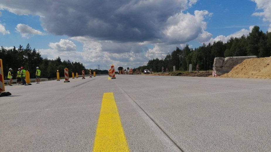 Autostrada A1. Odcinek z Radomska do Częstochowy