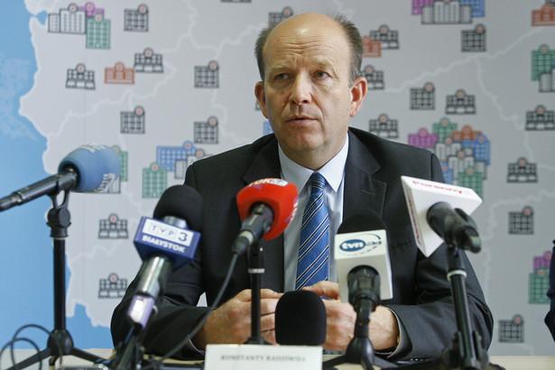 Minister zdrowia Konstanty Radziwiłł, PAP/Artur Reszko