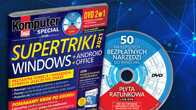 Komputer Świat Special 1/2021: Triki do Windows, Androida, Office