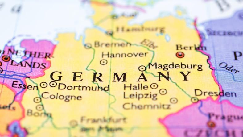 Niemcy mapa