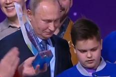 Vladimir Putin, Dečak, selfi