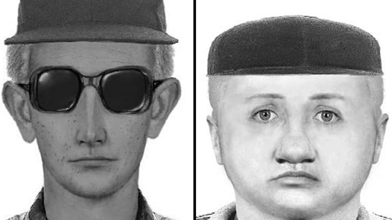 Portrety pamięciowe bandytów, którzy pobili księdza