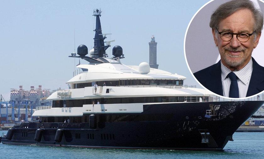 Steven Spielberg sprzedaje jacht. Co za przepych!
