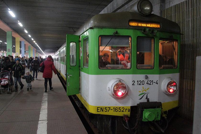 Awaria sparaliżowała pociągi