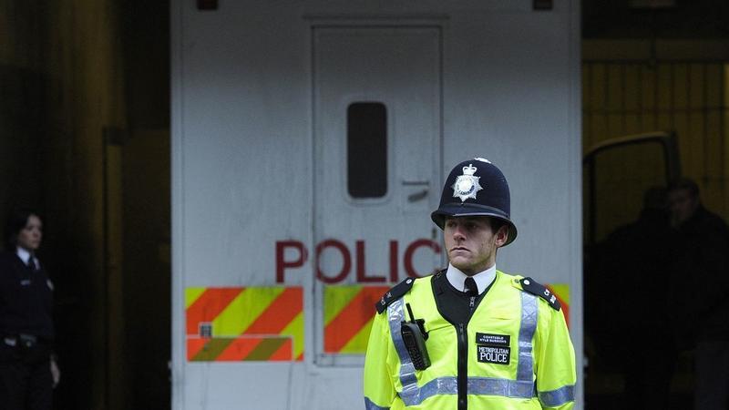Londyński policjant