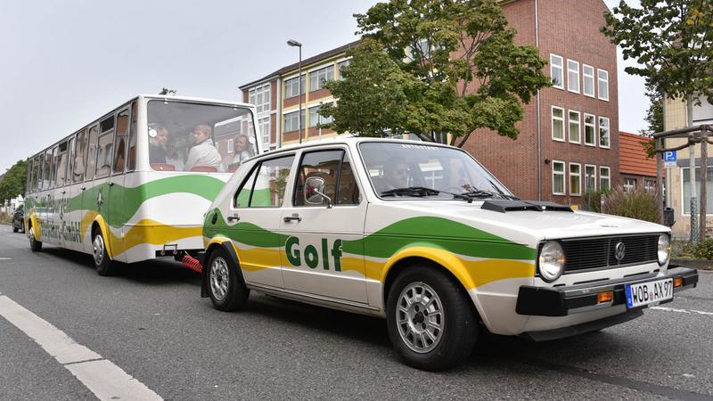 Volkswagen Golf Bähnle w Wolfsburgu